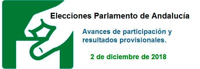 Elecciones al Parlamento Andaluz 2018. Excmo. Ayuntamiento de Écija