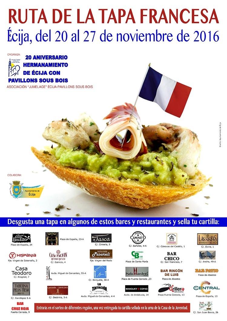 Agenda excmo ayuntamiento de cija Tapas francesas