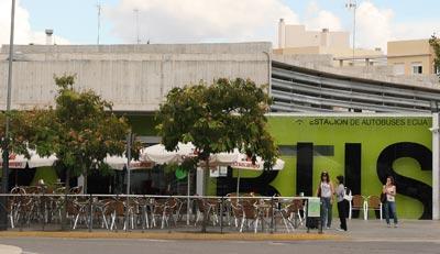 Estación de autobuses en Écija